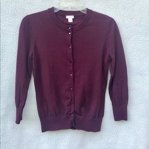 """J.Crew """"The Clare Cardigan"""" size S"""